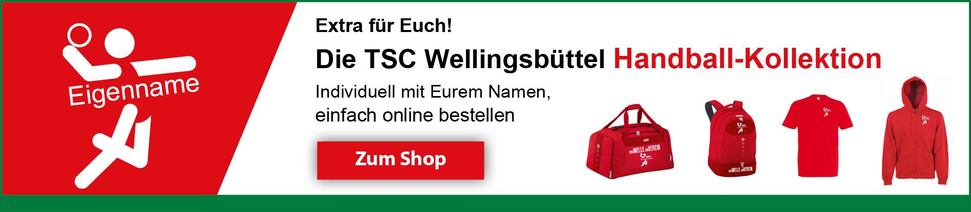 TSC Wellingsbüttel Handball-Kollektion Banner