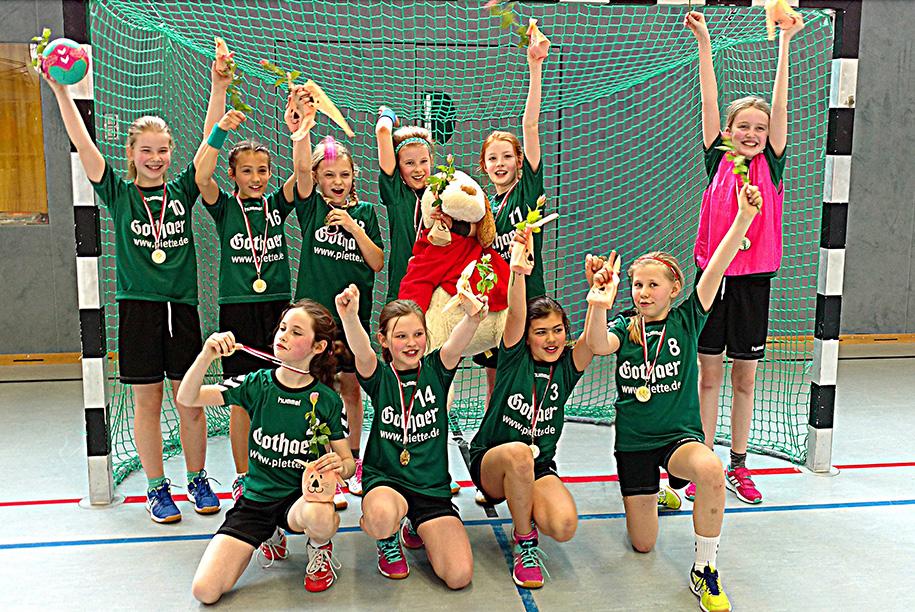 TSC Wellingsbüttel Handball weibliche D-Jugend 2018